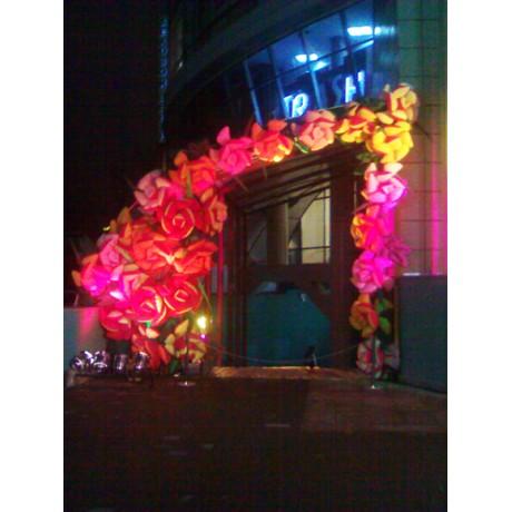 Надувные декорации цветов
