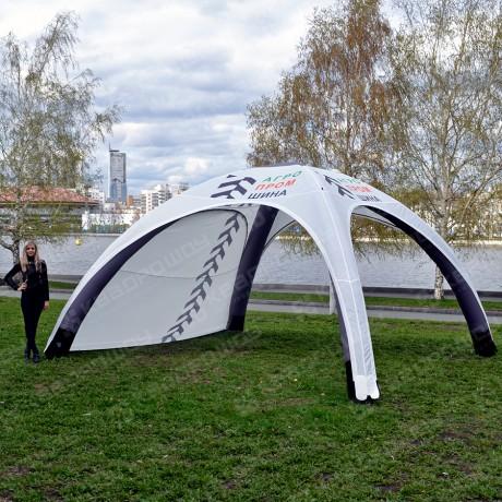 Герметичный шатер с логотипом