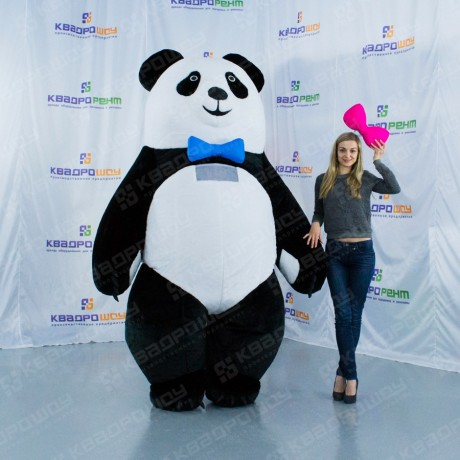Надувная панда для рекламы
