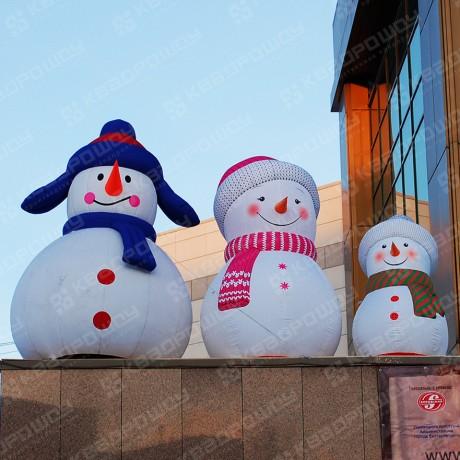 Надувные Снеговики для оформления