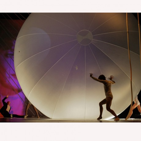 Надувная конструкция шара