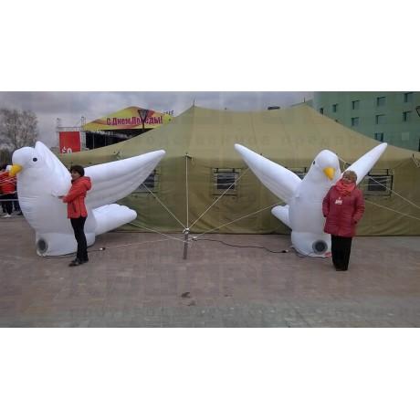 Надувные фигуры голубей