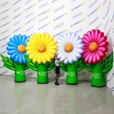 Украшение мероприятия надувные цветы