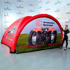 Надувной шатер для рекламы и акций