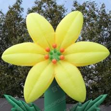 Надувной цветок