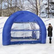 Пневмоконструкция палатка 4-х опорная надувная купить