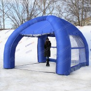 Торговая палатка надувная с прозрачными стенками купить