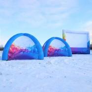 Надувные палатки и экран г. Кемерово