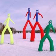 Танцующие надувные фигуры Аэромены