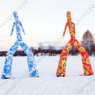 Надувные танцующие фигуры для праздника Аэромен
