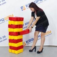 Игровые блоки 30шт Дженга ПВХ