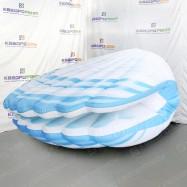 большая надувная ракушка