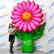 Декоративная надувная фигура огромный цветок