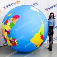 Надувной мяч политическая карта мира