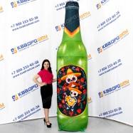большой рекламный макет копия бутылки