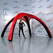 Брендированный шатер для выставок