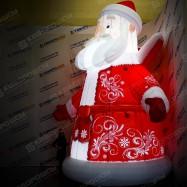 Дед Мороз с подсветкой лампочки