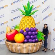Фигура рекламно-демонстрационная Корзина с фруктами