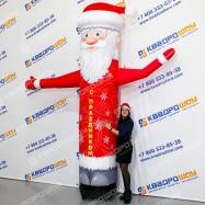 Фигура надувная Дед Мороз Лайт