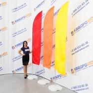 Флаг Виндер Парус три цвета