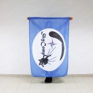 флаг прямоугольный для скай дайвинг