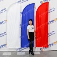 флаговая композиция триколор на 9 мая