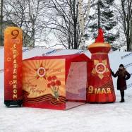 Надувные декорации на День Победы тематические