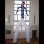 Танцующая надувная фигура аэромен