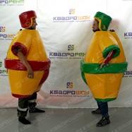 Командный аттракцион борьба сумо
