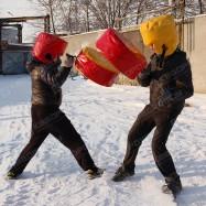 Командное состязание бои на подушках