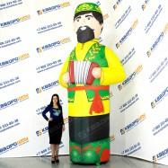большая декорация на татарский праздник сабантуй
