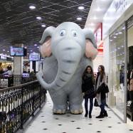 Ростовой костюм Слон