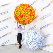 Надувные мячи Хохлома Гжель