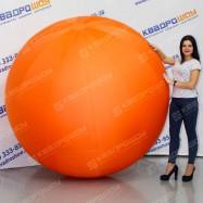 Надувной шар большой оранжевый