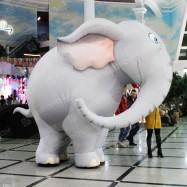 Рекламный костюм Слон
