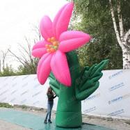 Конструкция праздничная лилия розовая