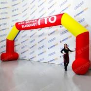 Надувная арка устойчивая для спортивного мероприятия