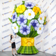 надувная фигура цветочный букет