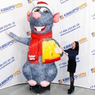 Новогодняя декорация Крыса ай-стоппер