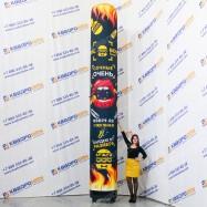 Надувная рекламная колонна