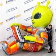 Надувная рекламная конструкция инопланетянин