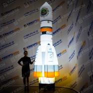 Надувная конструкция Ракета