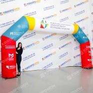 Надувная арка для спортивных мероприятий