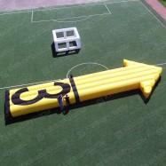 Надувная стрелка-указатель для авиационных гонок