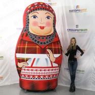 Татарская надувная матрешка