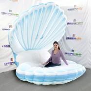 надувная театральная декорация большая морская ракушка