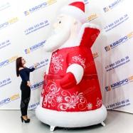 Надувная конструкция Дед Мороз