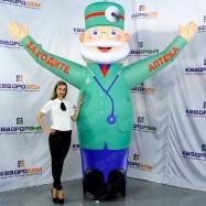 Рекламная фигура доктора