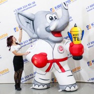 Надувной Слон каратист