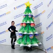 Надувной большой Снеговик